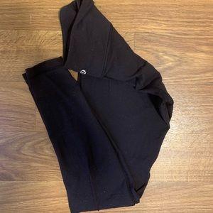 lululemon athletica Pants - Black lulu lemon wunder unders (leggings)